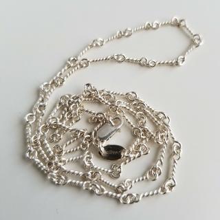 ツイストチェーン silver925 50cm メンズ クロムハーツ 好きに人気