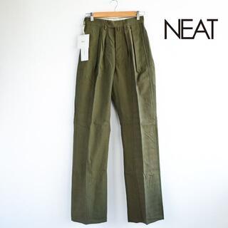 新品 NEAT ニート 定価4万9500円  USテントクロスワイドパンツ 40
