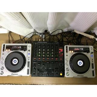 パイオニア(Pioneer)の良品 Pioneer CDJ-800MK2 DJM-500(CDJ)