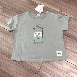 futafuta - テータテート 牛 tシャツ tete a tete フタフタ 90 グリーン