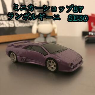 ランボルギーニ ディアブロ SE30 イオタ ミニカー 紫