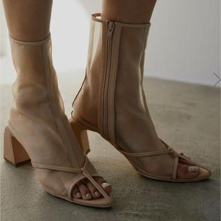 Ameri VINTAGE - ameri vintage  sandal like boots beige