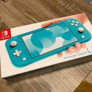 Nintendo Switch - 新品未使用 Nintendo Switch  Lite ターコイズ 本体