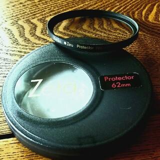 Kenko Zeta Protector (W)フィルター62㎜(フィルター)