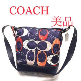 COACH - 【美品】coach コーチ ショルダーバッグ