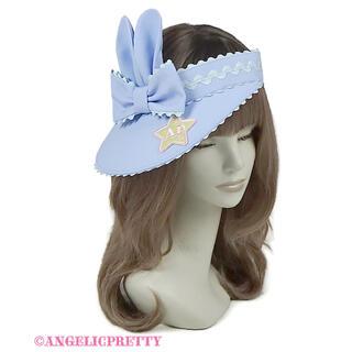 アンジェリックプリティー(Angelic Pretty)のJelly Candy Toysサンバイザー サックス(その他)