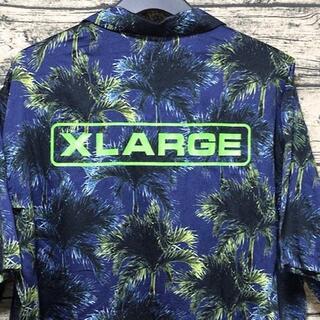 XLARGE - 大きいサイズ X-LARGE エクストララージ アロハシャツ XL 柄シャツ