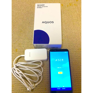 AQUOS - AQUOS sense3 lite ブラック 64 GB SIMフリー
