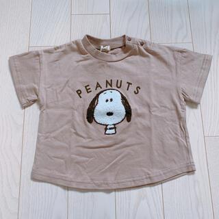 しまむら - 【新品未使用】スヌーピー Tシャツ 90サイズ