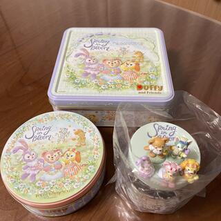 Disney - 新品未開封♡スプリングインブルーム♡紅茶 アソーテッドクッキー スウィーツ缶