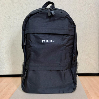 MILKFED. - 【新品】MILKFED. BIG Size BLACKロゴ 大容量バックパック