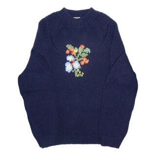 stefan cooke 20AW flower knit ステファンクック