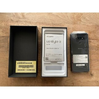 LG Electronics - LG style 3 L-41A ミラーブラック 黒 新品未使用