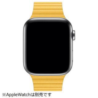 アップルウォッチ(Apple Watch)の未開封品 apple watch純正品バンド 42mm/44mmケース用 本革(その他)