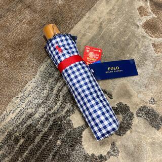 ラルフローレン(Ralph Lauren)の新品未使用 ラルフローレン 折りたたみ傘(傘)