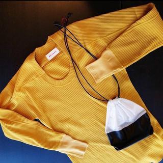 シンゾーン(Shinzone)のmeyame リブロングスリーブT 限定色(Tシャツ(長袖/七分))