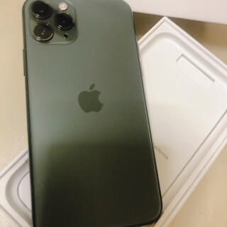 iPhone - iPhone 11 Pro ミッドナイトグリーン 64 GB au