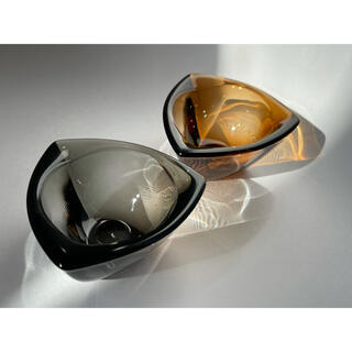 iittala - 2個セット ヴィンテージガラス ittala ヌータヤルヴィ