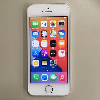 iPhone - iPhoneSE simフリー 16GB バッテリー良好 完動品