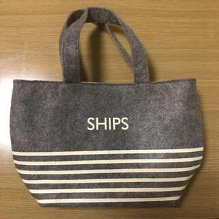 SHIPS - SHIPS ダブルA面 ミニトート トートバッグ