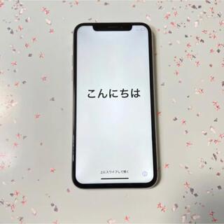アイフォーン(iPhone)のiPhone X Silver 256GB docomo(スマートフォン本体)