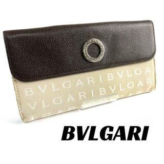 BVLGARI - 【可品】BVLGARI ブルガリ 長財布 ロゴマニア ブランド