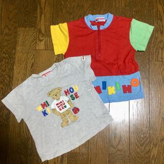 mikihouse - ミキハウス Tシャツ 80 90 まとめ売り