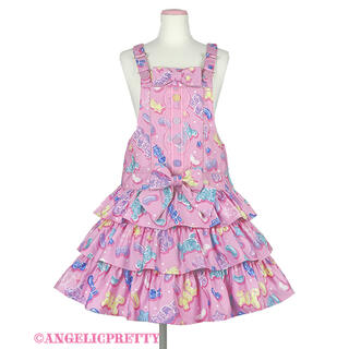 アンジェリックプリティー(Angelic Pretty)のJelly Candy Toysサロペット(サロペット/オーバーオール)