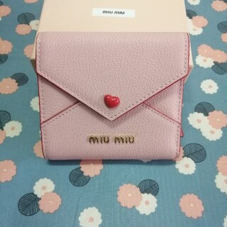 miumiu - 《美品》miumiu ブレスレット レディース 折り財布