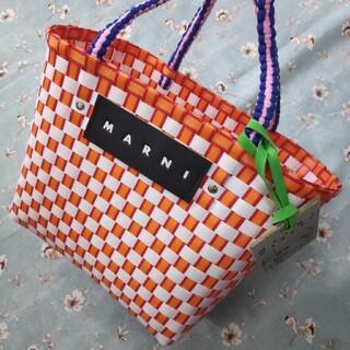 Marni - マルニ MARNI ピクニックバッグ かごバッグ 送料無料