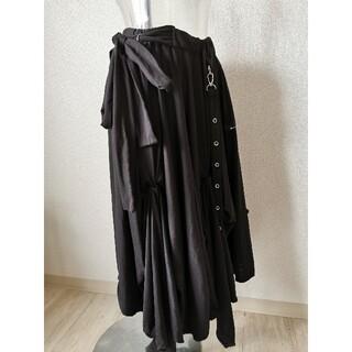 エーシーディーシーラグ(ACDC RAG)のゴシックロックな変形スカート(ロングスカート)