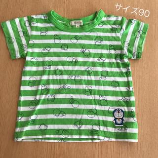 ハッシュアッシュ(HusHush)のサイズ90  ドラえもん Tシャツ(Tシャツ/カットソー)
