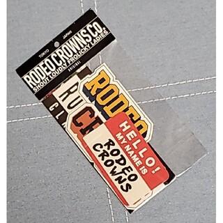 ロデオクラウンズ(RODEO CROWNS)のロデオクラウンズ RCWB ステッカーセット 4枚入り(その他)