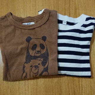 MARKEY'S - マーキーズ・無印良品Tシャツ2枚セット