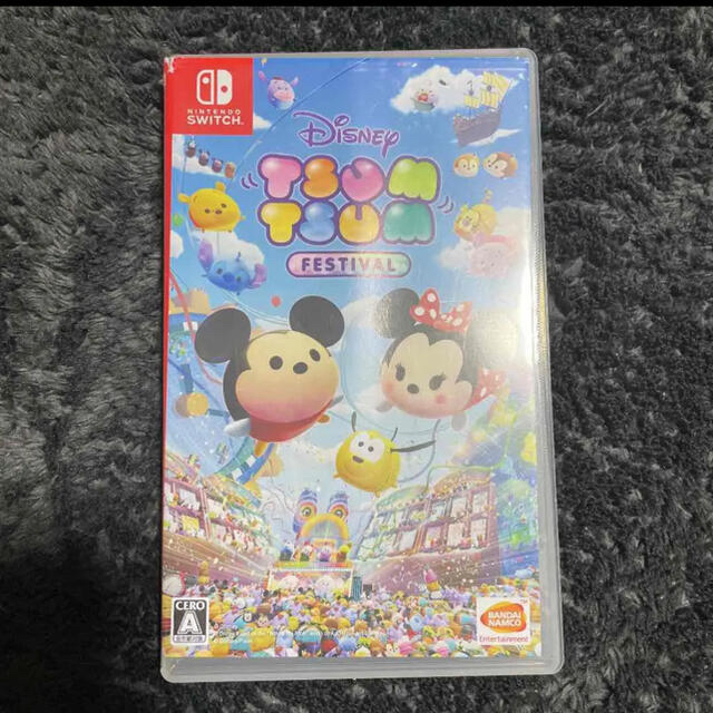 Nintendo Switch(ニンテンドースイッチ)のDisney ツムツム フェスティバル エンタメ/ホビーのゲームソフト/ゲーム機本体(携帯用ゲームソフト)の商品写真
