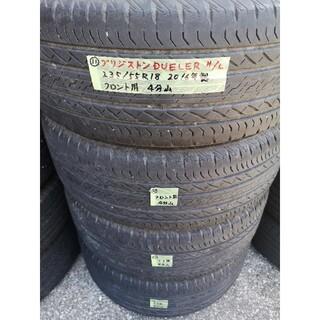 ブリヂストン(BRIDGESTONE)の⑪中古 ブリジストン DUELER H/L 235/55R18 サマータイヤ4本(タイヤ)