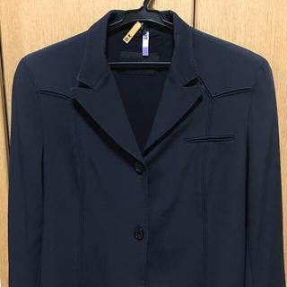 プラダ(PRADA)のヴィンテージプラダPRADA濃紺ジャケット美品(テーラードジャケット)