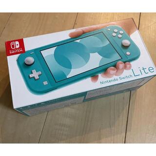 Nintendo Switch - Nintendo Switch Lite ターコイズブルー 本体 スイッチ
