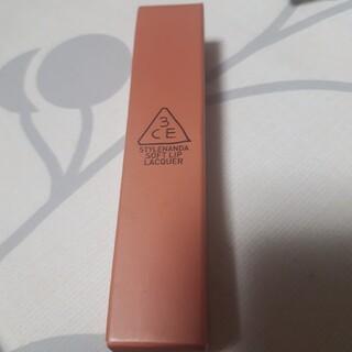 3ce - 3ce Soft Lip Lacquer #PeachTea 韓国コスメ
