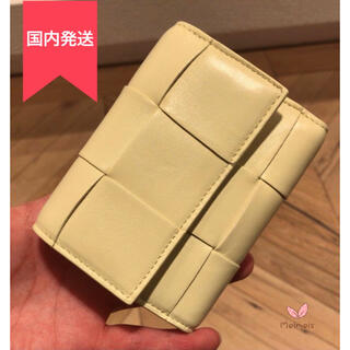 Bottega Veneta - BOTTEGA VENETA <新品> カセット3つ折財布 ICE CREAM