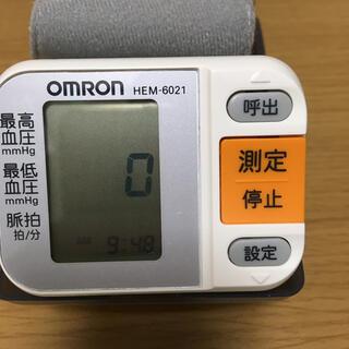 OMRON - オムロンデジタル自動血圧計 HEM-6021