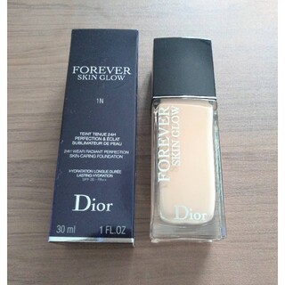 Dior - 【新品未使用】ディオールスキン フォーエヴァー フルイド グロウ 1N
