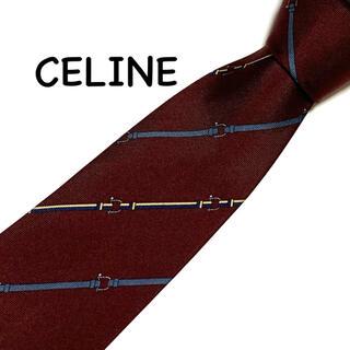 celine - CELINE セリーヌ ネクタイ シルク100%