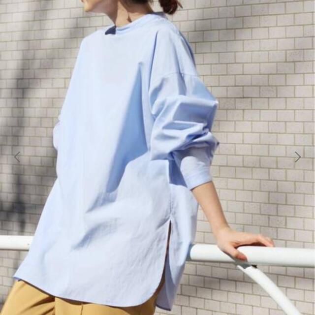 IENA(イエナ)のIENA コットンブロードバックボタンシャツ レディースのトップス(シャツ/ブラウス(長袖/七分))の商品写真