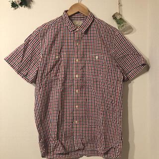 MAISON KITSUNE' - MAISON KITSUNE ギンガムチェック半袖シャツ