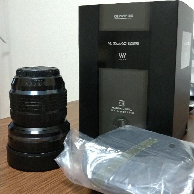 OLYMPUS(オリンパス)のM.ZUIKO DIGITAL ED 7-14mm F2.8 PRO スマホ/家電/カメラのカメラ(レンズ(ズーム))の商品写真