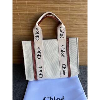 Chloe - Chloe クロエ woody トートバッグ Mサイズ