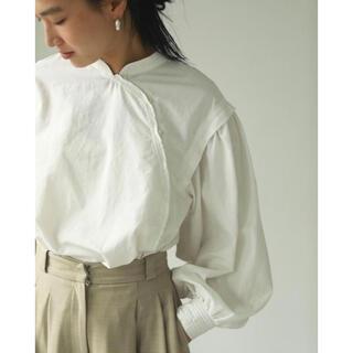 TODAYFUL - todayful Cotton Asymmetry Shirts エクリュ完売