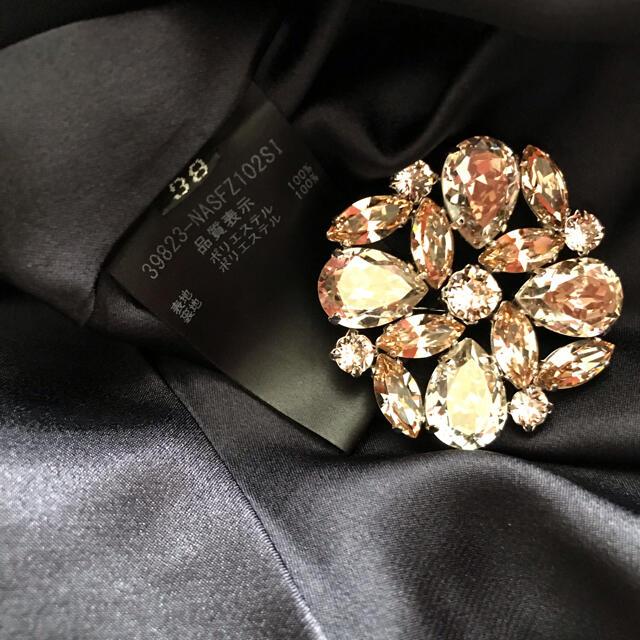 FOXEY(フォクシー)の♡フォクシー♡スカート Emilia♡ネイビー♡38♡ レディースのスカート(ひざ丈スカート)の商品写真