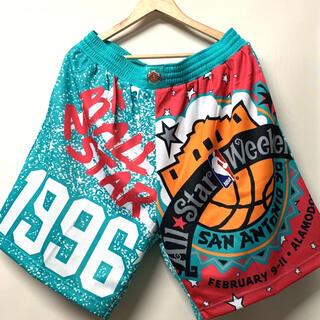 MITCHELL & NESS - NBA オールスター 1996 ショーツ JUST DON バスパン